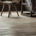 Metallics Pewter | Leaf Floor Covering