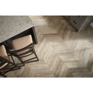 GleeChevron Noce Overhead | Leaf Floor Covering