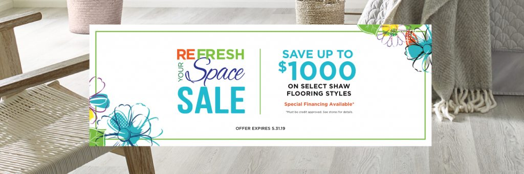 Refresh your space spring sale | Leaf Floor Covering
