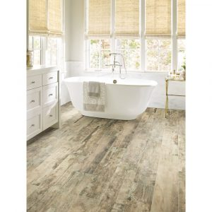 Timeworn Oak bathroom flooring | Leaf Floor Covering