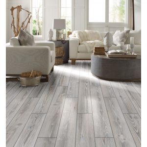 Traditional Platinum living room flooring | Leaf Floor Covering