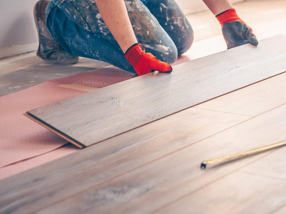 Hardwood Installation   Leaf Floor Covering