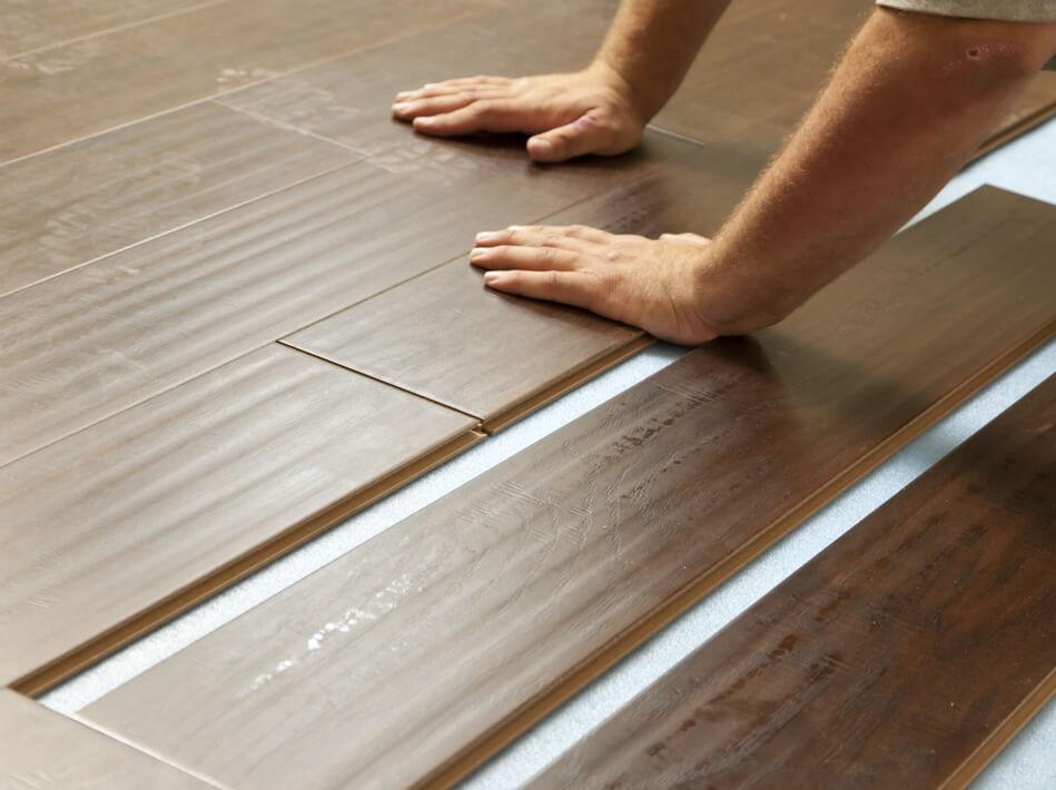 Laminate installation | Leaf Floor Covering