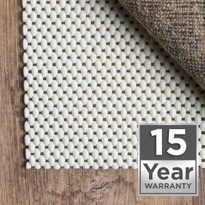 Rug pad fifteen year warranty | Leaf Floor Covering