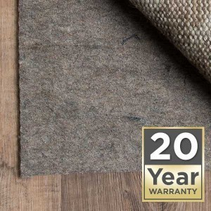 Rug pad twenty year warranty | Leaf Floor Covering