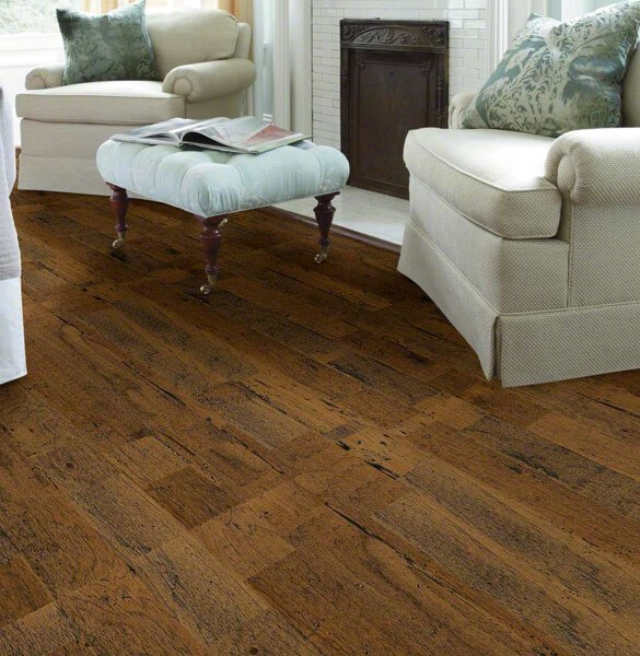 Shaw distrassed hardwood flooring | Leaf Floor Covering