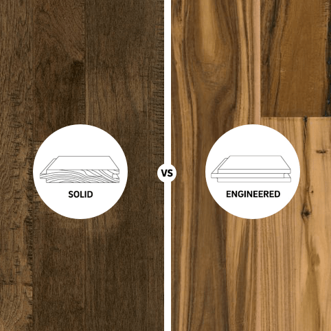 Solid vs engineered hardwoood flooring | Leaf Floor Covering