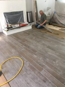 Installation process of flooring | Leaf Floor Covering