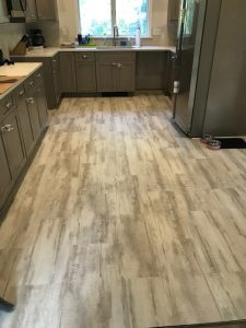 Laminate flooring in Kitchen | Leaf Floor Covering