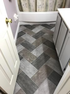 Bathroom Flooring | Leaf Floor Covering