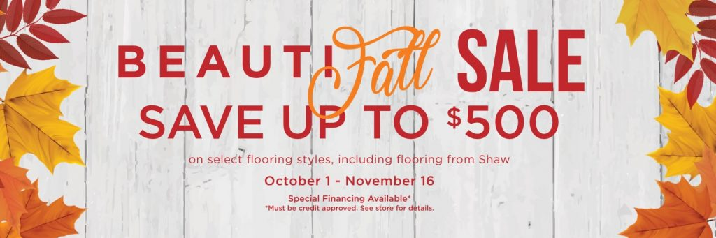 Beautifall sale | Leaf Floor Covering