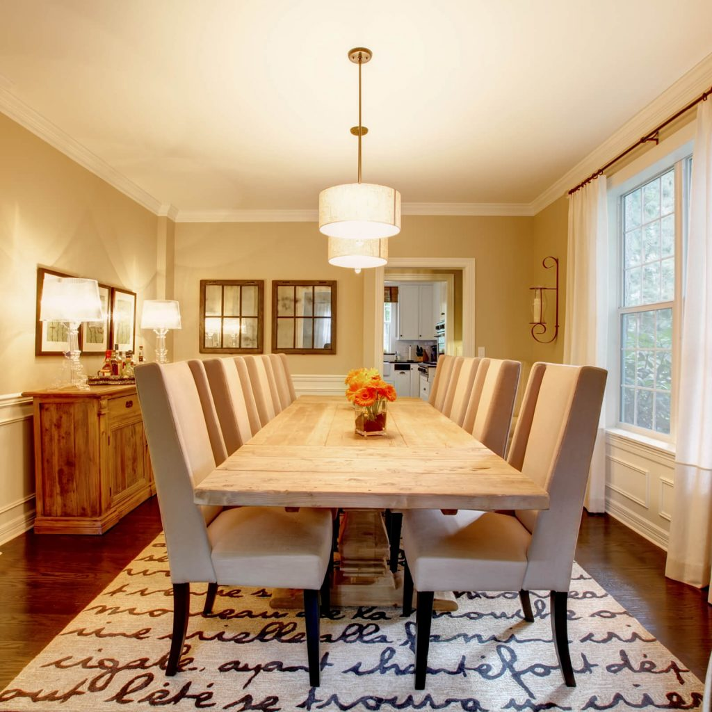 Dining room interior | Leaf Floor Covering