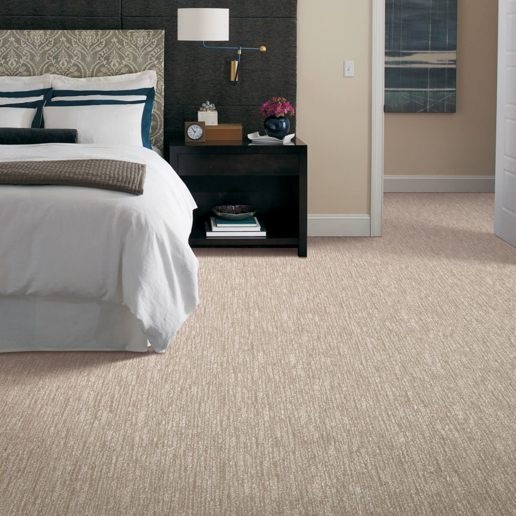 New carpet in bedroom | Leaf Floor Covering