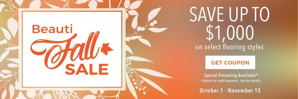 Beautifall sale | Leaf Floor Covering
