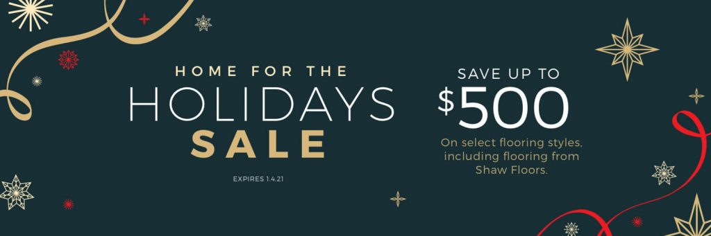 Home for the Holidays Sale | Leaf Floor Covering