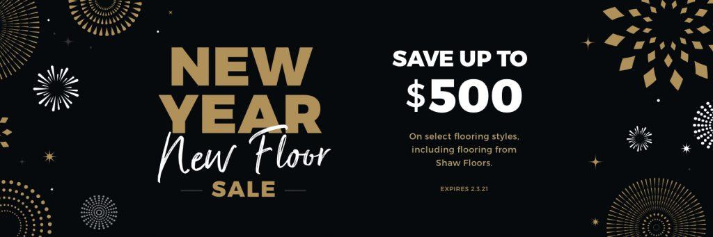 New Year New Floors Sale | Leaf Floor Covering